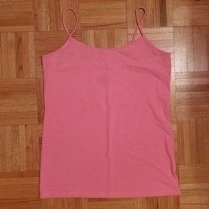 No Boundaries | Pink Thin Strap Camisole Tank